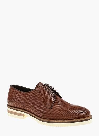 Divarese %100 Deri Bağcıklı Klasik Ayakkabı Taba